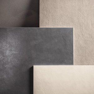 Gres porcellanato effetto cemento spatolato