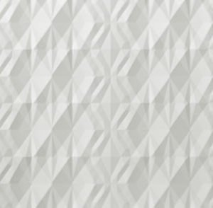 atlas 3d wall kite white matt