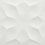 atlas 3d wall diamond white matt