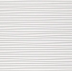 atlas 3d wall flows white matt