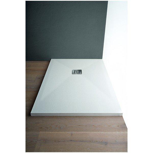 Piatto doccia Arblu Trendy Slim h.3cm (effetto pietra ardesia ...