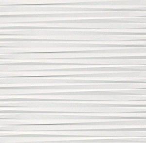 atlas 3d wall blade white matt