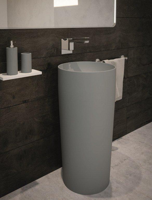 lavabo monolitico freestanding esedra flat