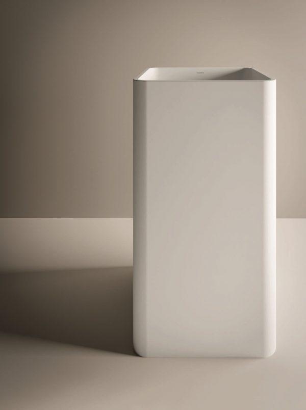 lavabo monolitico freestanding esedra qube
