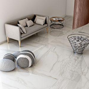 tuscania white marble statuario ambient